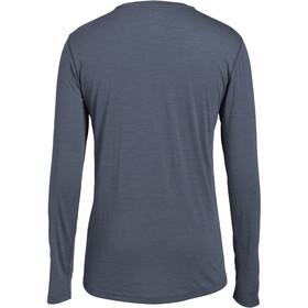 super.natural M's Base LS 175 Shirt Quiet Shade Melange